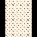 """Ткань для пэчворк (50x55см) ВМ-12 из коллекции """"Век моды"""" """"Peppy"""""""