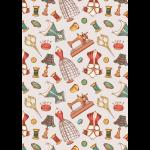 """Ткань для пэчворк (50x55см) ВМ-13 из коллекции """"Век моды"""" """"Peppy"""""""