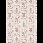 """Ткань для пэчворк (50x55см) ВМ-16 из коллекции """"Век моды"""" """"Peppy"""""""