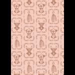 """Ткань для пэчворк (50x55см) ВМ-17 из коллекции """"Век моды"""" """"Peppy"""""""