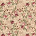 """Ткань для пэчворк (50x55см) ВР-04 из коллекции """"Викторианские розы"""" """"Peppy"""""""