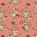 """Ткань для пэчворк (50x55см) ВР-18 из коллекции """"Викторианские розы"""" """"Peppy"""""""