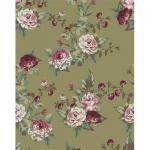 """Ткань для пэчворк (50x55см) ВР-31 из коллекции """"Викторианские розы"""" """"Peppy"""""""