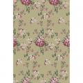 """Ткань для пэчворк (50x55см) ВР-33 из коллекции """"Викторианские розы"""" """"Peppy"""""""