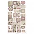 """Ткань для пэчворк (60x110см) ВР-79 из коллекции """"Викторианские розы"""" """"Peppy"""""""
