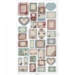 """Ткань для пэчворк (60x110см) ВР-80 из коллекции """"Викторианские розы"""" """"Peppy"""""""