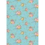 """Ткань для пэчворк (50x55см) ВС-02 из коллекции """"Версальские сады"""" """"Peppy"""""""