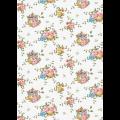 """Ткань для пэчворк (50x55см) ВС-03 из коллекции """"Версальские сады"""" """"Peppy"""""""