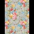 """Ткань для пэчворк (50x55см) ВС-07 из коллекции """"Версальские сады"""" """"Peppy"""""""