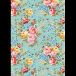 """Ткань для пэчворк (50x55см) ВС-08 из коллекции """"Версальские сады"""" """"Peppy"""""""