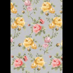 """Ткань для пэчворк (50x55см) ВС-13 из коллекции """"Версальские сады"""" """"Peppy"""""""