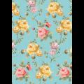 """Ткань для пэчворк (50x55см) ВС-14 из коллекции """"Версальские сады"""" """"Peppy"""""""
