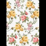 """Ткань для пэчворк (50x55см) ВС-15 из коллекции """"Версальские сады"""" """"Peppy"""""""