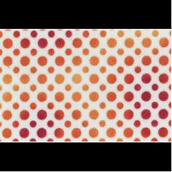 """Ткань для пэчворк 23413-RO из коллекции """"Ombre Dots"""" """"Quilting Treasures"""" (США)"""