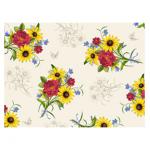 """Ткань для пэчворк 23515-E из коллекции """"Цветочные гравюры"""" """"Quilting Treasures"""" (США)"""