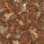 """Ткань для пэчворк 24835-O из коллекции """"Out of Africa"""" """"Quilting Treasures"""" (США)"""