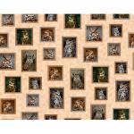 """Ткань для пэчворк 27065-E из коллекции """"Noctomal Wonders"""" """"Quilting Treasures"""" (США)"""