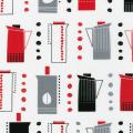 """Ткань для пэчворк (50x55см) 10763-182 из коллекции """"Metro Cafe"""" """"Robert Kaufman""""(США)"""