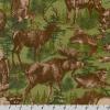 "Ткань фланель (60x110см) 12622-268 из коллекции ""Timber Lodge"" ""Robert Kaufman""(США)"