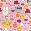 """Ткань для пэчворк (50x55см) 12978-256 из коллекции """"Metro Cafe"""" """"Robert Kaufman""""(США)"""