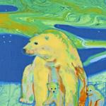 """Ткань для пэчворк (60x110см) 13387-205 из коллекции """"Creatures of the wild"""" """"Robert Kaufman""""(США)"""