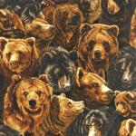 """Ткань для пэчворк (60x110см) 14045-268 из коллекции """"Nature studies"""" """"Robert Kaufman""""(США)"""
