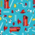 """Ткань для пэчворк (50x55см) 14171-237 из коллекции """"Ruff N Tuff"""" """"Robert Kaufman""""(США)"""