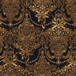 """Ткань для пэчворк 14554-199 из коллекции """"Новогодняя роскошь"""" """"Robert Kaufman""""(США)"""