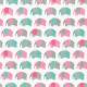 "Ткань фланель (50x55см) 15309-287 из коллекции ""Urban Zoologie Minis"" ""Robert Kaufman""(США)"
