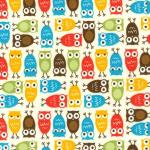"Ткань фланель (50x55см) 15310-286 из коллекции ""Urban Zoologie Minis"" ""Robert Kaufman""(США)"