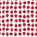"Ткань фланель (50x55см) 15312-99 из коллекции ""Urban Zoologie Minis"" ""Robert Kaufman""(США)"