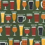 """Ткань для пэчворк (50x55см) 16463-7 из коллекции """"Cheers"""" """"Robert Kaufman""""(США)"""