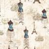 """Ткань для пэчворк (50x55см) 16737-68 из коллекции """"City of lights"""" """"Robert Kaufman""""(США)"""