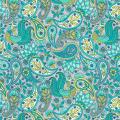 "Ткань для пэчворк (50x55см) 17635-390 из коллекции ""Delphine"" ""Robert Kaufman""(США)"