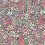 "Ткань для пэчворк (50x55см) 17635-96 из коллекции ""Delphine"" ""Robert Kaufman""(США)"