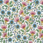 "Ткань для пэчворк (50x55см) 17637-192 из коллекции ""Delphine"" ""Robert Kaufman""(США)"