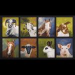"""Ткань для пэчворк (60x110см) 16513-268 из коллекции """"Down on the farm"""" """"Robert Kaufman""""(США)"""