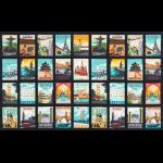 """Ткань для пэчворк (60x110см) 14909-200 из коллекции """"Dream vacation"""" """"Robert Kaufman""""(США)"""
