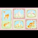 """Ткань для пэчворк (60x110см) 16670-10 из коллекции """"Fawns and friends"""" """"Robert Kaufman""""(США)"""