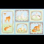 """Ткань для пэчворк (60x110см) 16670-4 из коллекции """"Fawns and friends"""" """"Robert Kaufman""""(США)"""