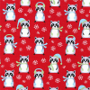 "Ткань для пэчворк (50x55см) 16658-223 из коллекции ""Frosty friends"" ""Robert Kaufman""(США)"