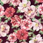"""Ткань для пэчворк (50x55см) 17656-238 из коллекции """"Garden studies"""" """"Robert Kaufman""""(США)"""