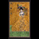 """Ткань для пэчворк (60x110см) 17179-133 из коллекции """"Gustav Klimt"""" """"Robert Kaufman""""(США)"""
