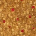 """Ткань для пэчворк (50x55см) 17181-3 из коллекции """"Gustav Klimt"""" """"Robert Kaufman""""(США)"""