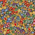 """Ткань для пэчворк (50x55см) 17183-205 из коллекции """"Gustav Klimt"""" """"Robert Kaufman""""(США)"""