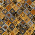 """Ткань для пэчворк (50x55см) 17184-133 из коллекции """"Gustav Klimt"""" """"Robert Kaufman""""(США)"""