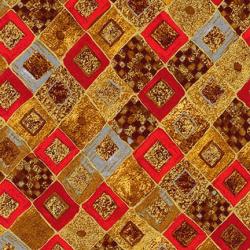 """Ткань для пэчворк (50x55см) 17184-3 из коллекции """"Gustav Klimt"""" """"Robert Kaufman""""(США)"""