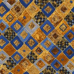 """Ткань для пэчворк (50x55см) 17184-72 из коллекции """"Gustav Klimt"""" """"Robert Kaufman""""(США)"""
