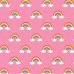 "Ткань для пэчворк (50x55см) 17165-10 из коллекции ""Happy Little Unicorns"" ""Robert Kaufman""(США)"