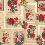 "Ткань для пэчворк (60x110см) 16067-200 из коллекции ""Heirloom diary"" ""Robert Kaufman""(США)"